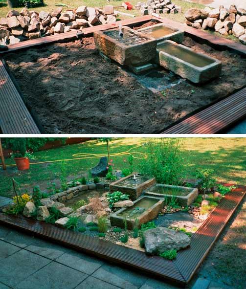 rekers garten- und landschaftsbau » vorher/nachher, Gartenarbeit ideen
